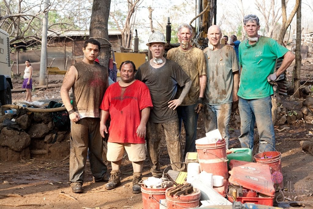 Building wells in Central America with Living waters