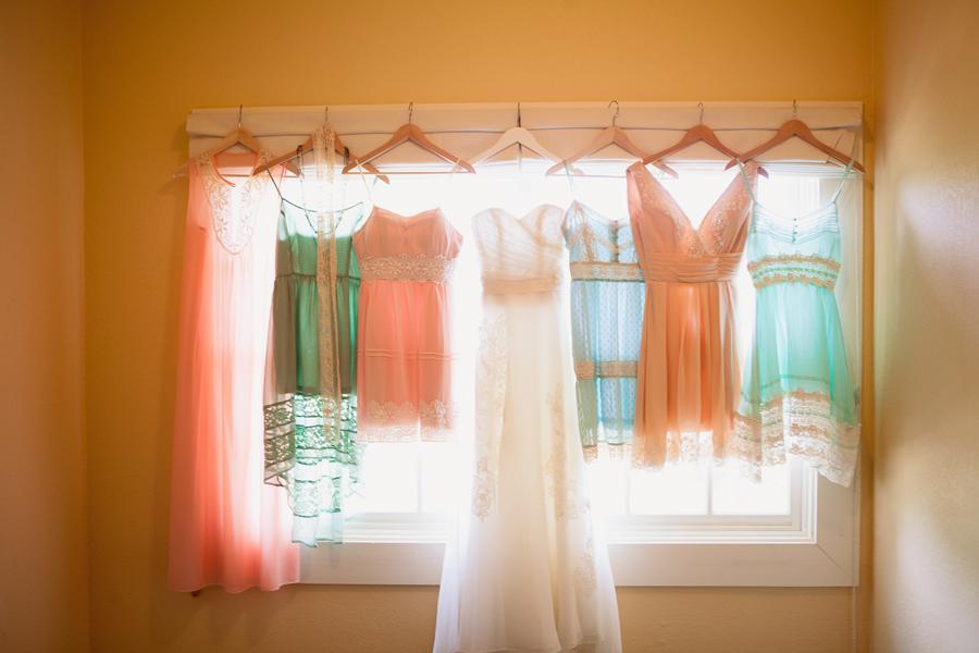 Private estate wedding photography. Wedding at Campovida. Wedding dress photos.