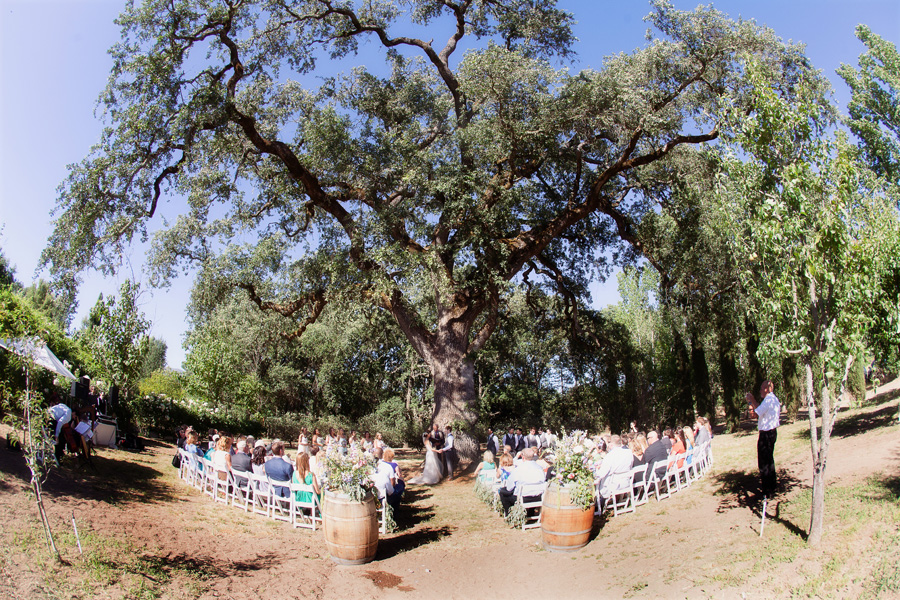 Private estate wedding photography. Wedding at Campovida. wedding ceremony photos.
