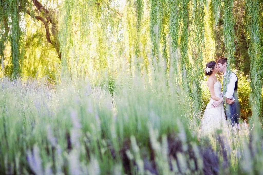 Outdoor wedding photography at private estate. Danielle Gillett Photography