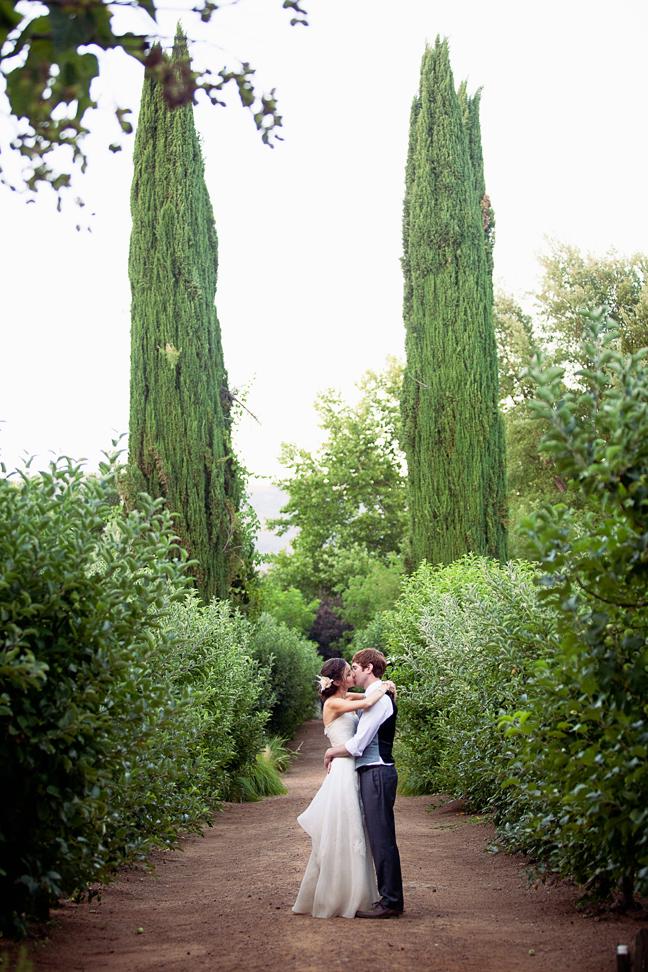 Private estate wedding photography. Wedding at Campovida. Bride and Groom  photos.
