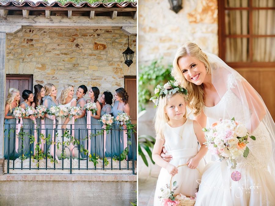 Holman Ranch Wedding Photography. Wedding photography in Carmel Valley. Outdoor wedding photography. Hacienda Wedding. Bridesmaids photos