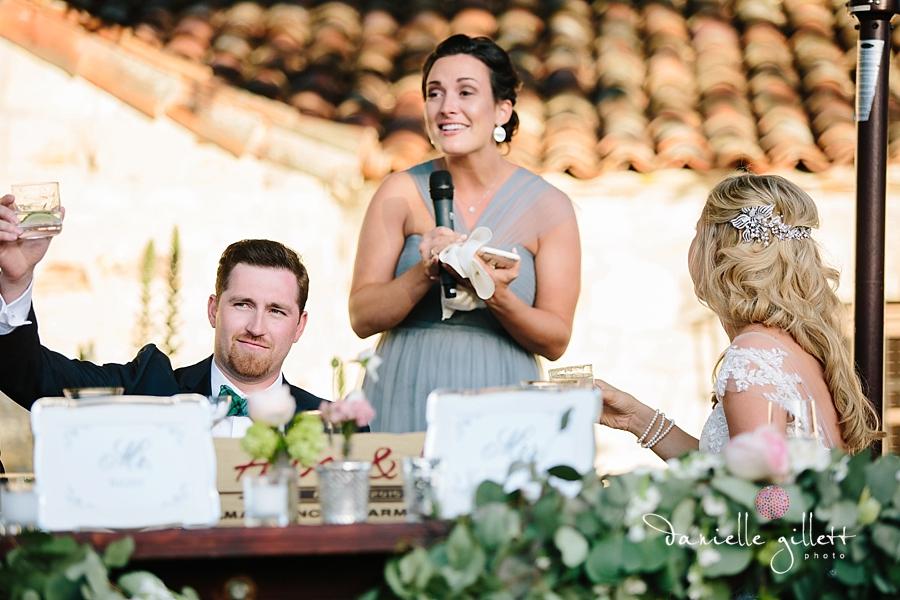 Holman Ranch Wedding Photography. Wedding photography in Carmel Valley. Outdoor wedding photography. Hacienda Wedding. wedding toasts photos