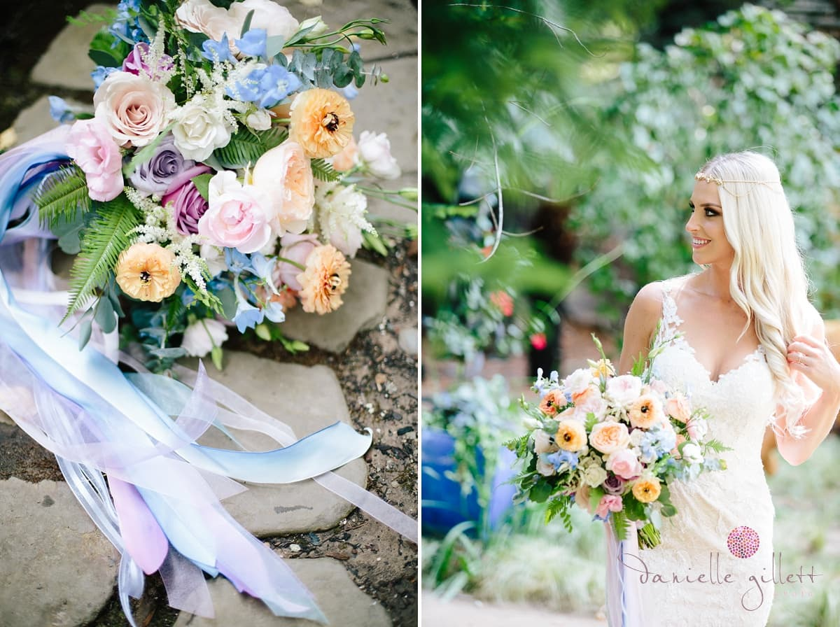 Danielle Gillett Photography, Wedding Photographer, Nestldown, Whimsical Wedding, Bride