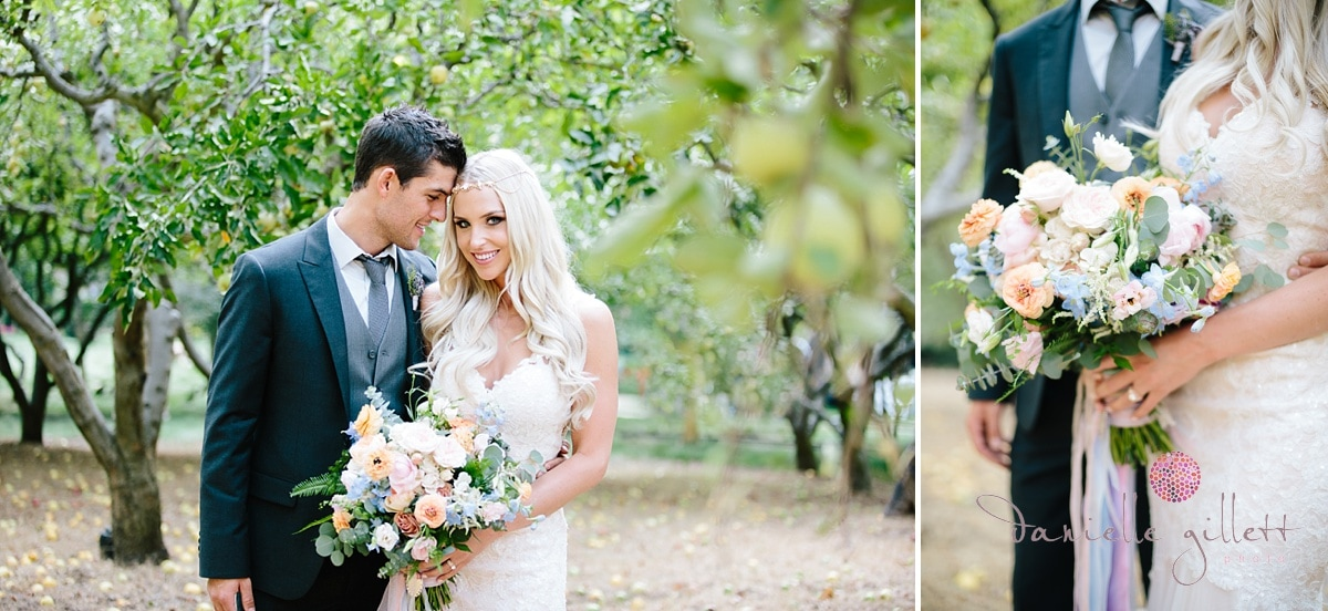 Danielle Gillett Photography, Wedding Photographer, Nestldown, Whimsical Wedding, Orchard