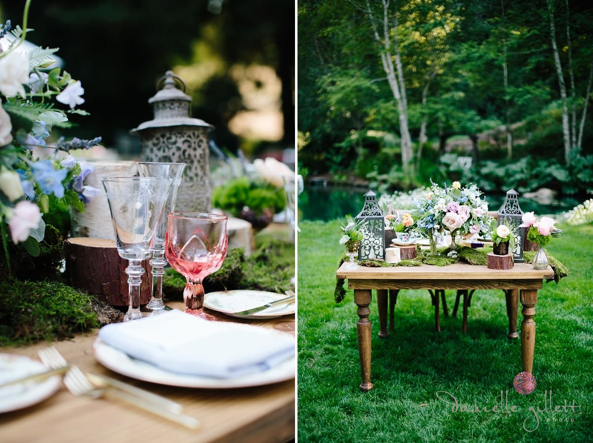 Danielle Gillett Photography, Wedding Photographer, Nestldown, Whimsical Wedding, Tablescape
