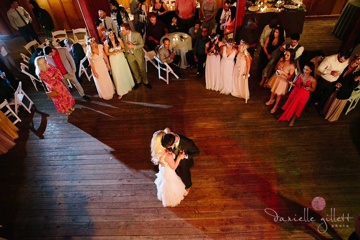 Danielle Gillett Photography, Wedding Photographer, Nestldown, First Dance