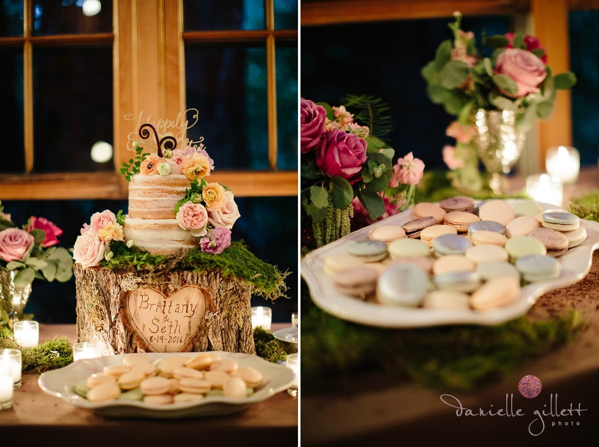 Danielle Gillett Photography, Wedding Photographer, Nestldown, Dessert Bar