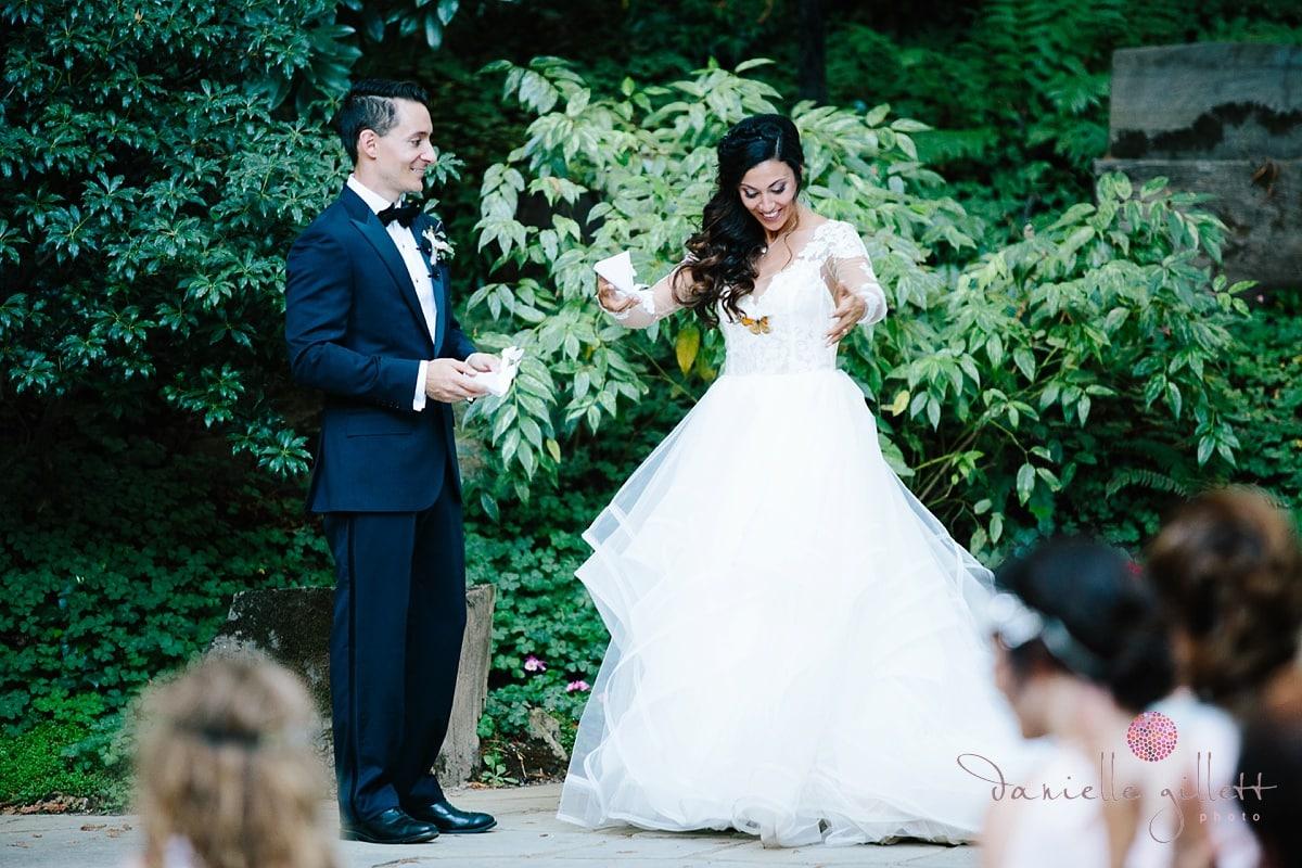Nesldown Wedding, Danielle Gillett Photography, Whimsical Wedding, Bohemian Wedding, Bay Area Wedding, Fairytale wedding, Santa Cruz Wedding, Redwood Wedding, Outdoor Wedding, Ceremony, Butterfly
