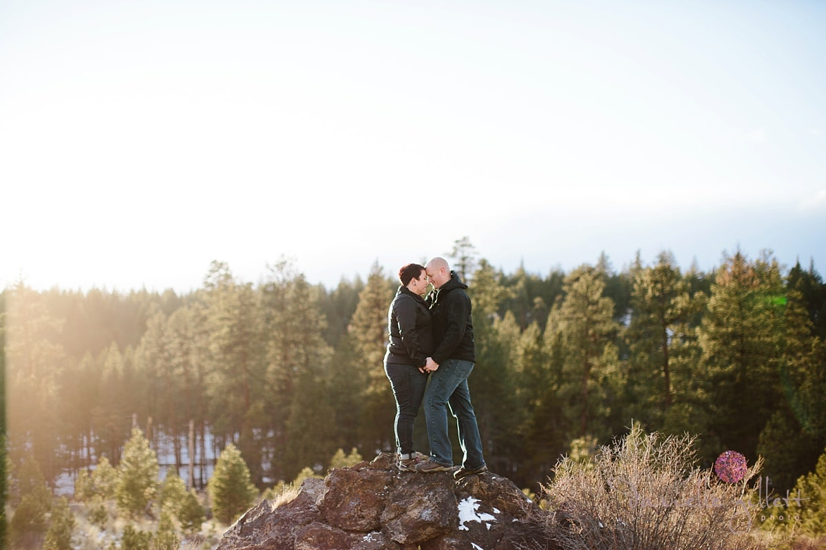 Bend Oregon Engagement Session | James and Amy - Bend Wedding ...