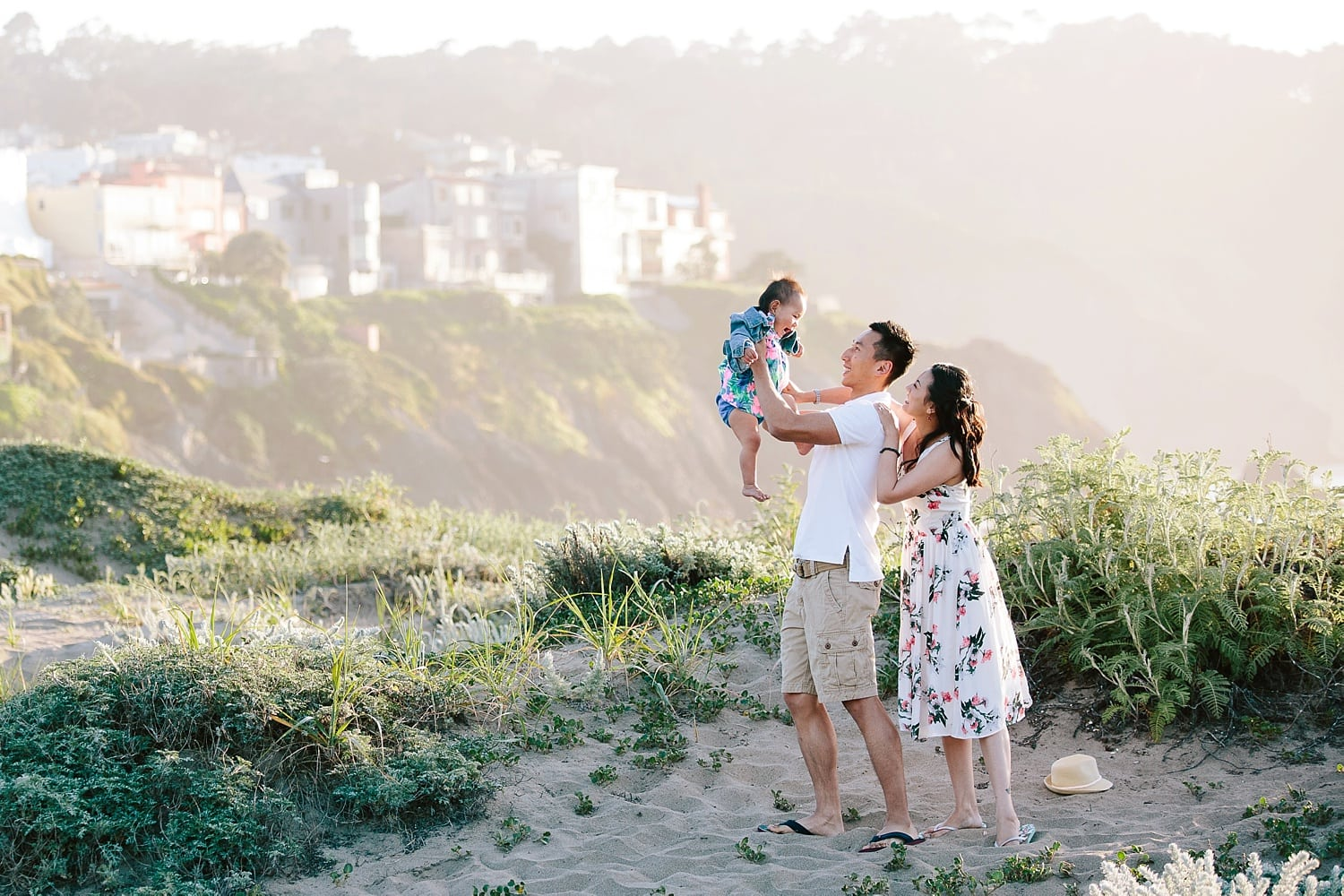 Beach Family Photography Session in San Francisco