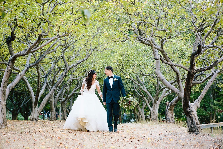 Outdoor wedding photography at Nestldown in Santa Cruz. Danielle Gillett Photography