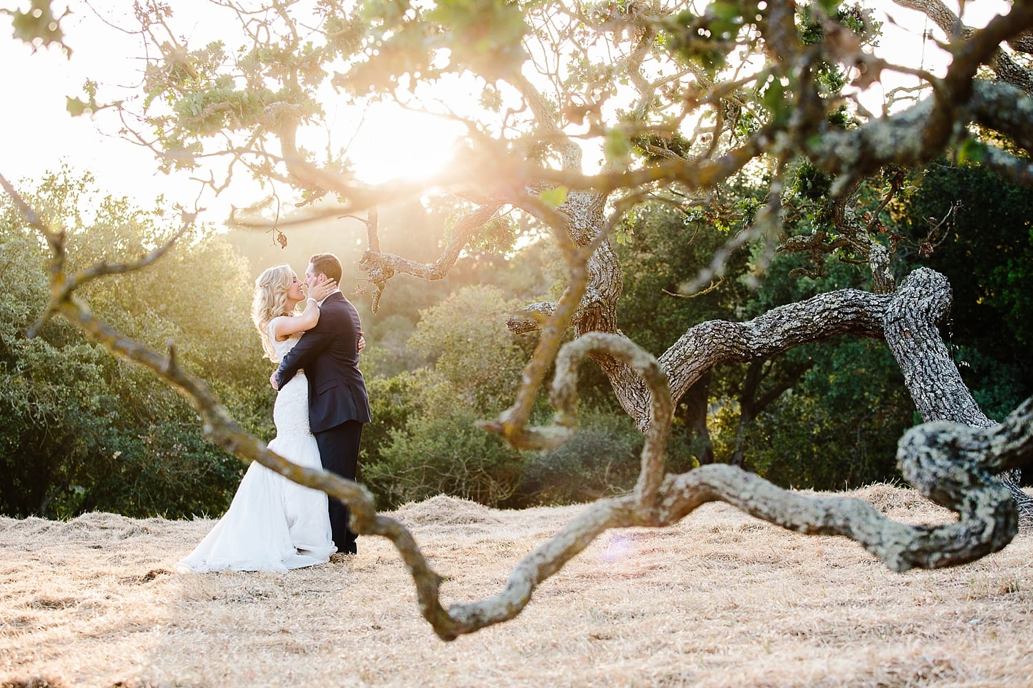 Outdoor wedding photography at Holman Ranch in Carmel Valley. Danielle Gillett Photography
