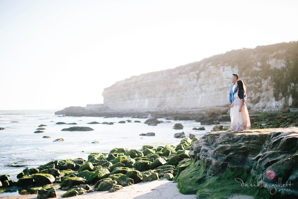 Beach Engagement session in Santa Cruz