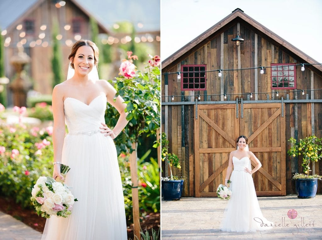 Outdoor wedding photography at Regale Winery in Santa Cruz. Danielle Gillett Photography