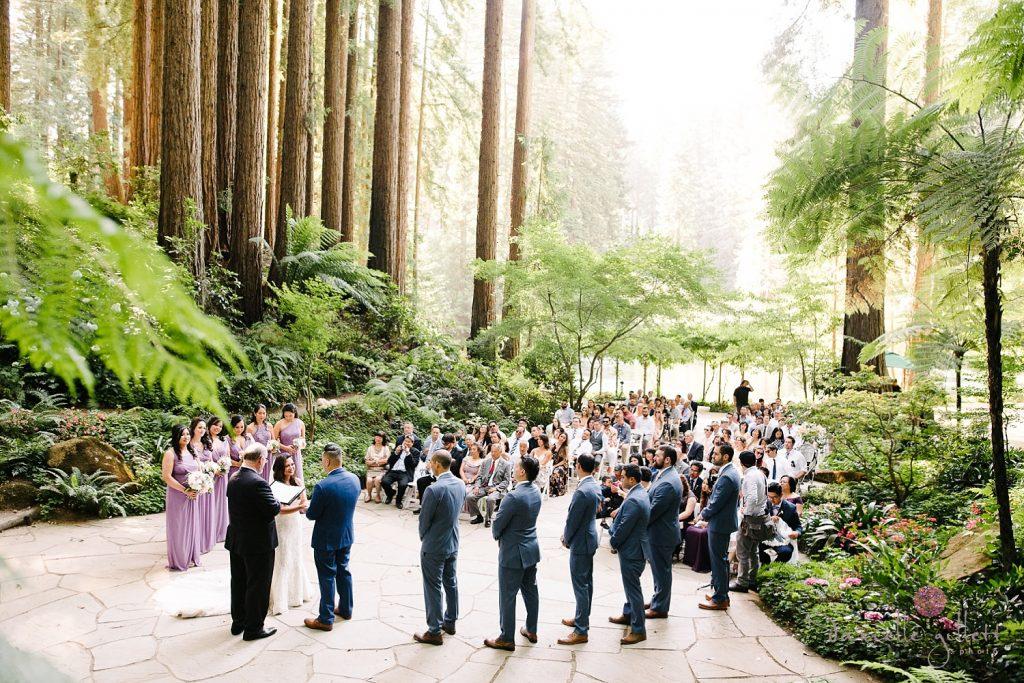 Nestldown Wedding, Ceremony in Chapel at Nestldown