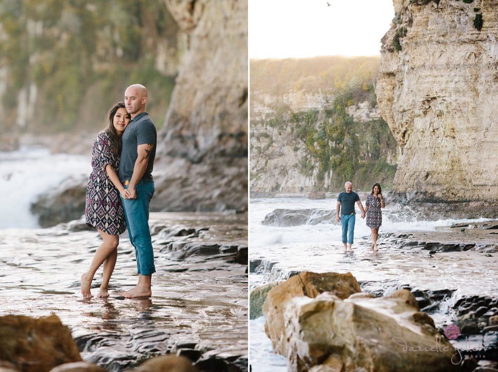 Santa Cruz Beach Engagement