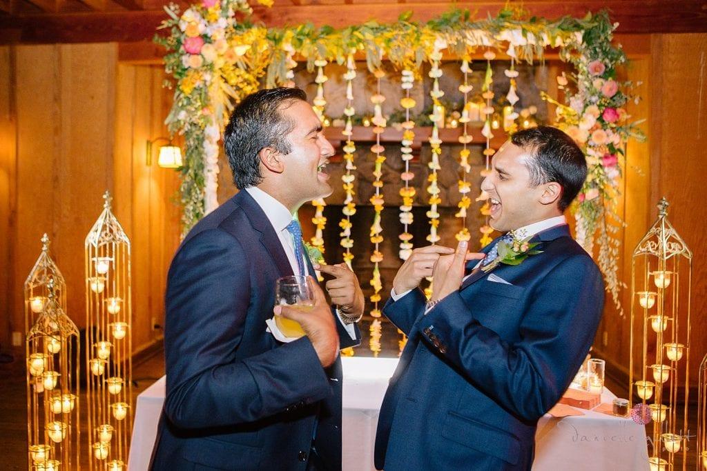Nestldown Wedding, reception at Nestldown