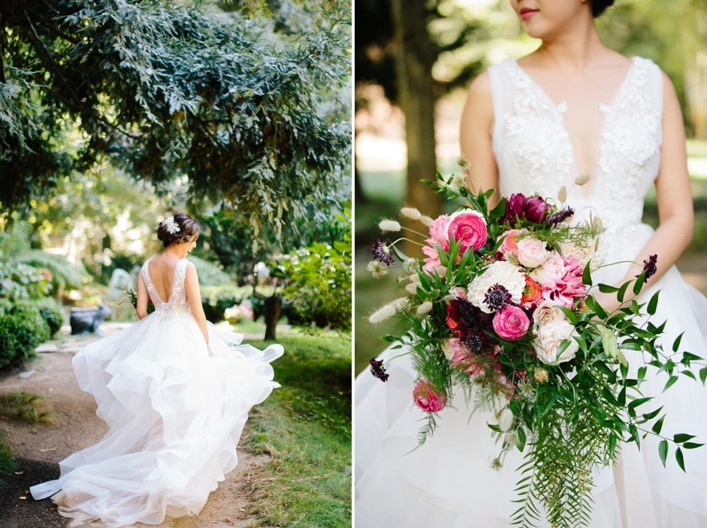 Nestldown Wedding Photography Bride in Redwoods