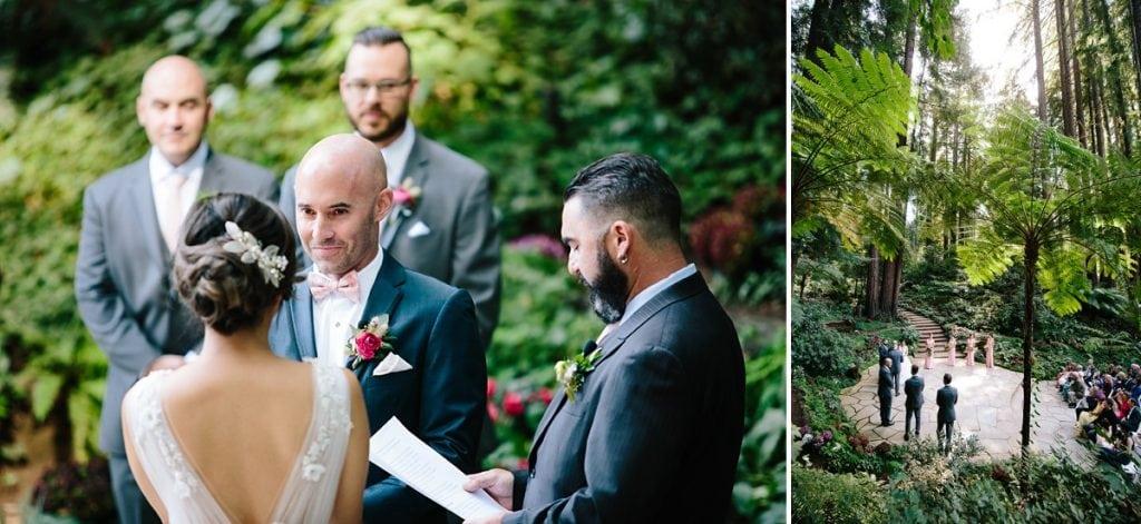 Nestldown Wedding Photography Redwood Ceremony