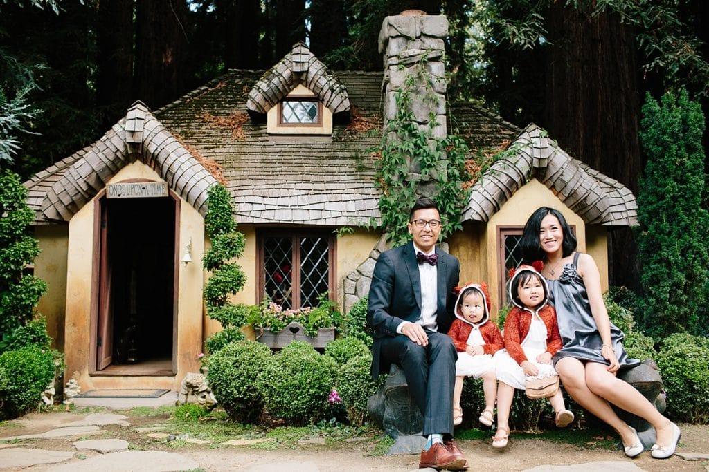 Nestldown Wedding Photography fantasy cottage