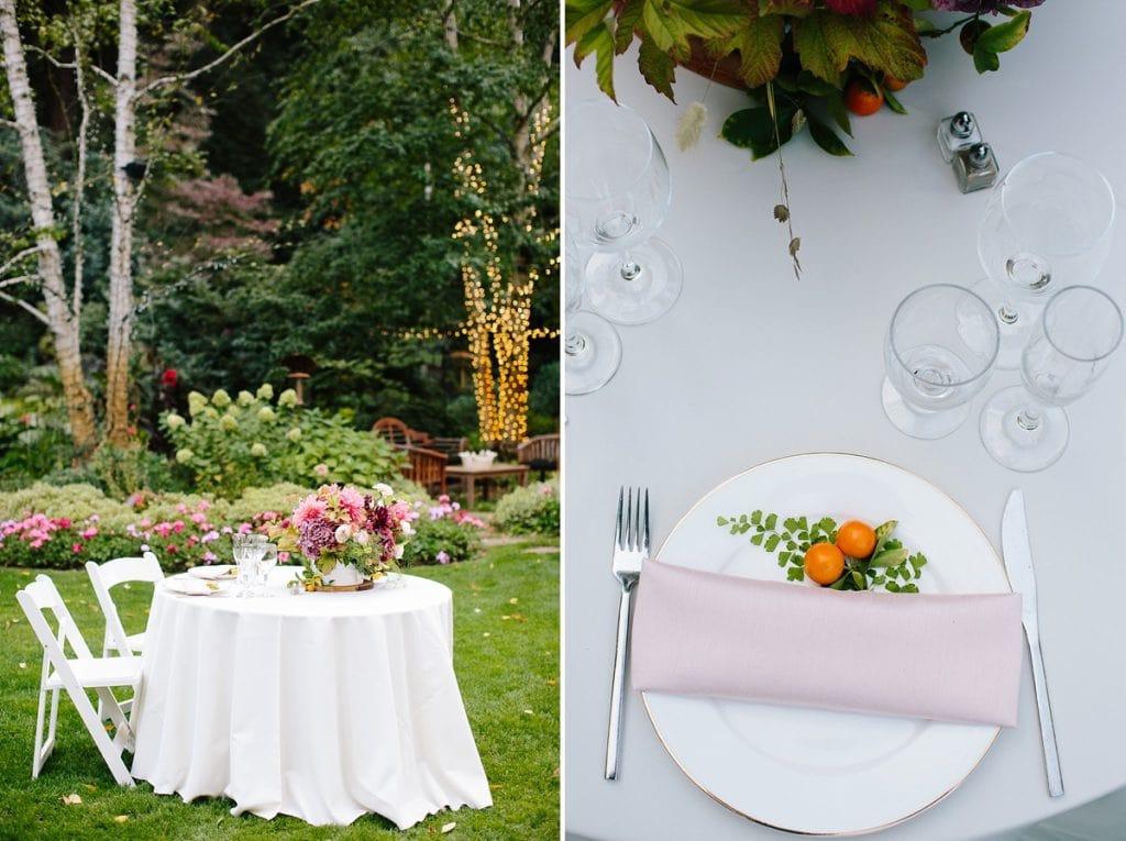 Nestldown Wedding Photography table decor