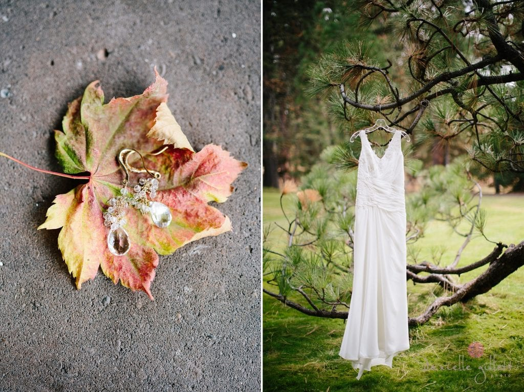 Bend Wedding at House on Metolious. Fall Wedding