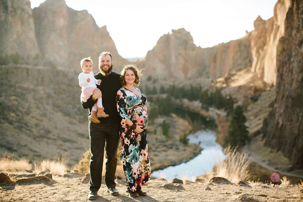 Bend Oregon Family Photography at Smith Rock. Smith Rock Family Pictures