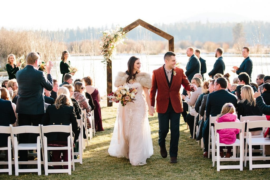 Bend Wedding Photography. Black Butte Ranch Wedding Ceremony