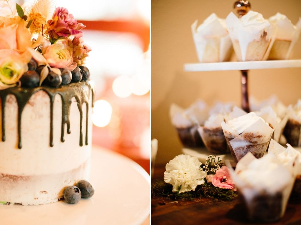 Bend Wedding Photography. Black Butte Ranch Wedding. Bend Winter Wedding. Wedding Cake