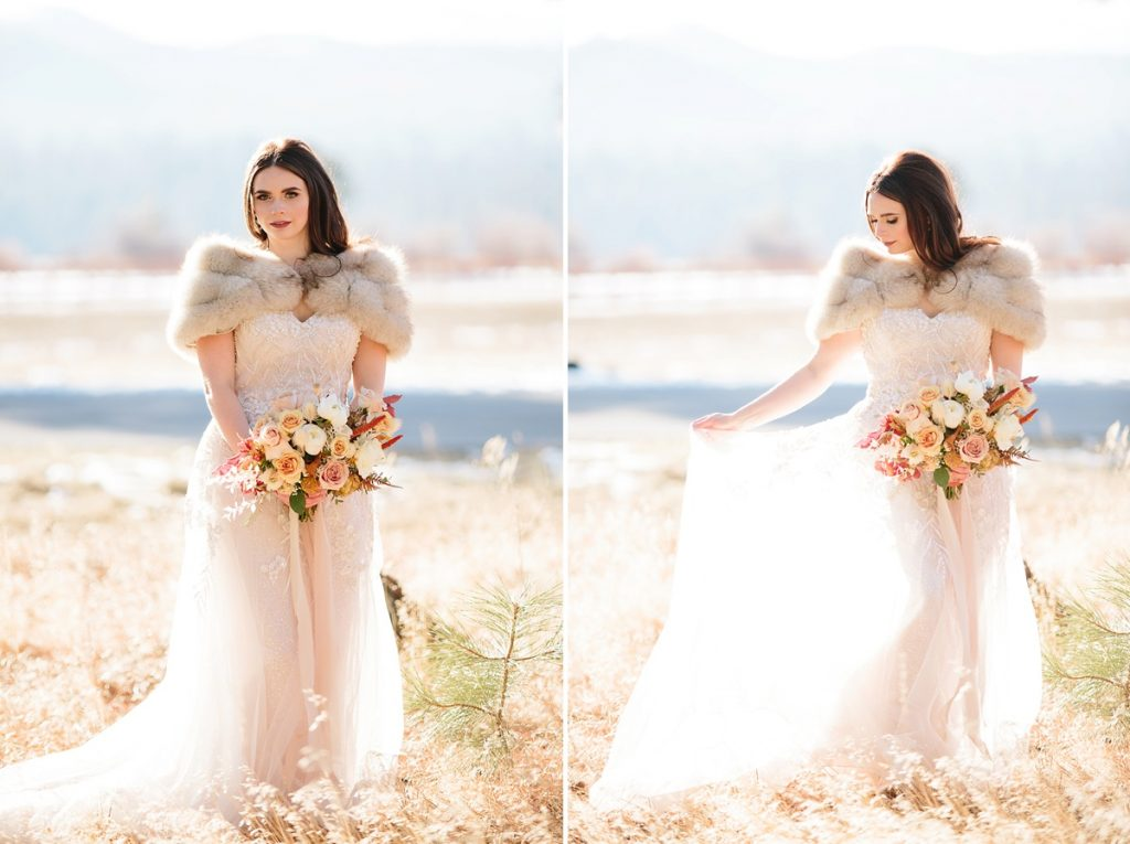 Bend Wedding Photography. Black Butte Ranch Wedding. Bride at Black Butte Ranch