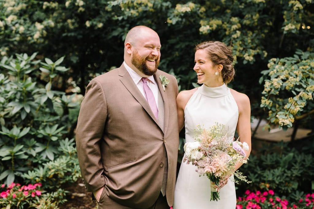 Nestldown Wedding Photography. Bride and bridesmaid. Same sex marriage.