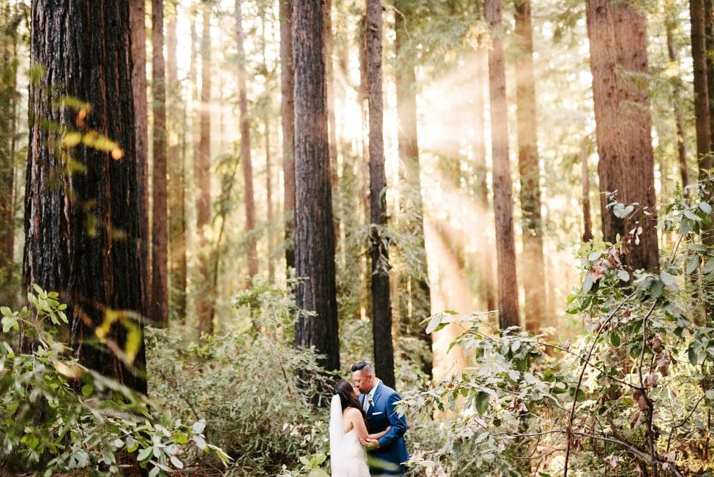 Nestldown Wedding photography. Redwood Nestldown wedding photo