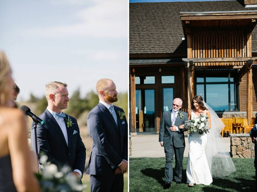 Brasada Ranch Wedding , Ceremony at Brasada Ranch, Wedding Photographer in Bend Oregon. Central Oregon Wedding photography