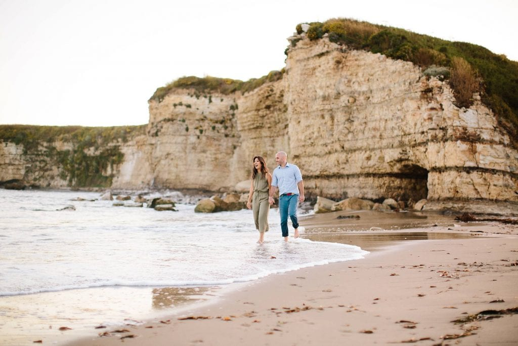 Santa Cruz beach engagement photos. Santa Cruz engagement and wedding photographer.