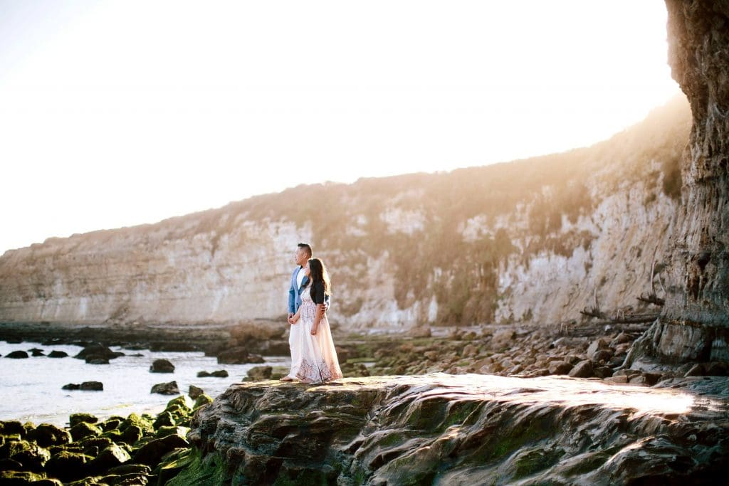Santa Cruz Beach engagement photos. Santa Cruz engagement and wedding photographer.